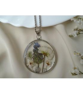 Medallón botánico