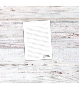 Cuaderno Hojas Rayadas (Tapas Personalizadas A TU GUSTO)