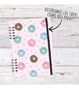 Cuaderno Hojas Lisas (Tapas Personalizadas A TU GUSTO)