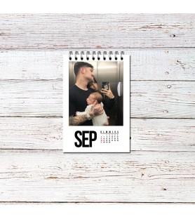 Calendarios Anillados (con tus fotos)