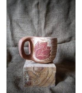 Taza de rosa