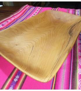 cuencos labrados de madera