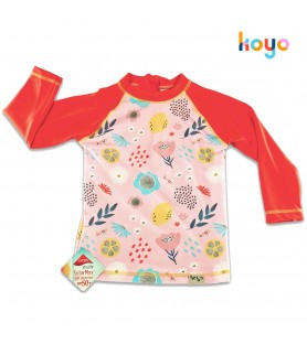 Remera UV50+ Mangas Largas FLOWERS