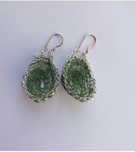 Aros de plata y agave