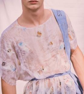 Blusa de seda Nuno felt