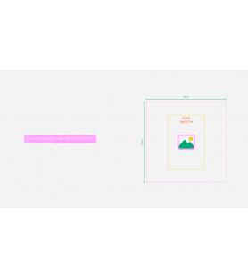 álbum de vida - tapas LETTERPRESS - M (22cm)