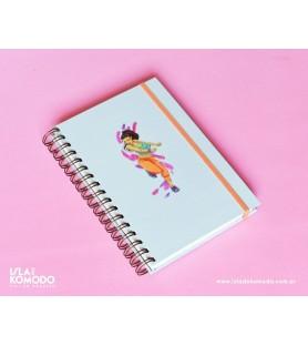 Cuaderno A5 BAILE