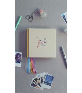 álbum de vida - tapas impresas - S (16cm)