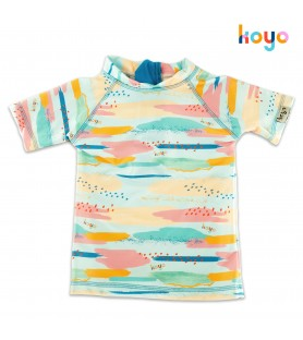 Remera UV50+ Mangas Cortas ABSTRACT
