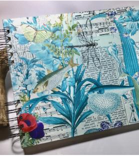 Cuaderno A4 liso