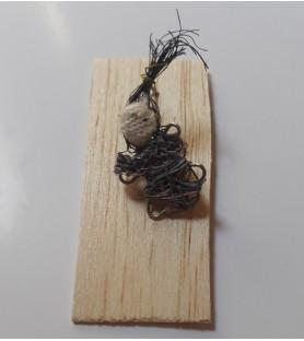 dije fibra de agave  y alpaca