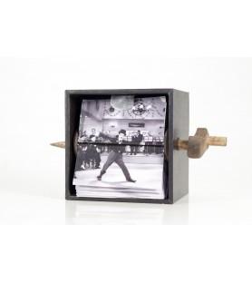 Folioscopio mecánico Charles Chaplin