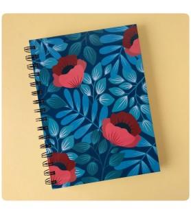 Cuaderno Amapolas